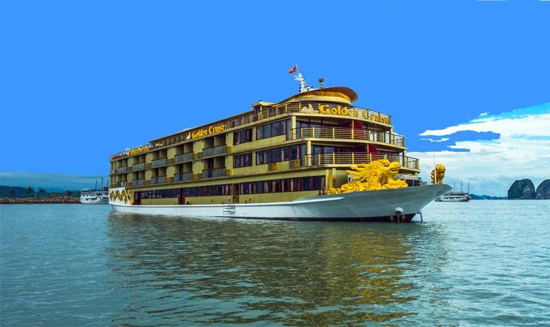 Du thuyền Hạ Long 3 sao Golden Cruise 2 ngày 1 đêm