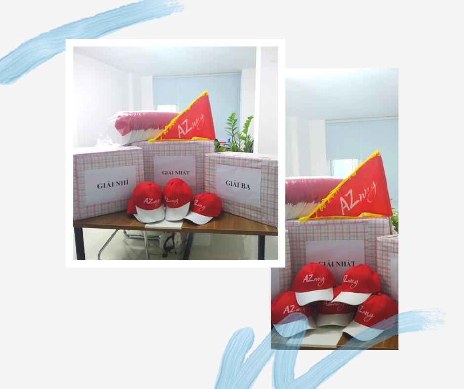 AZway chuẩn bị sẵn sàng các đồ phục vụ tour và cả các phần quà cho đoàn khách